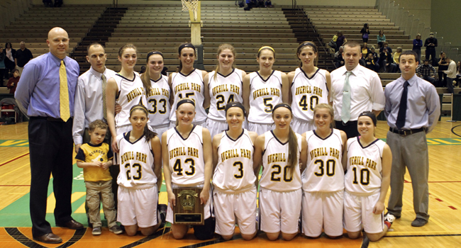 AP Girls Basketball - 2014 Section II, Class A Champs!